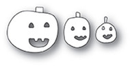 Poppystamp Die- Doodle Jack o Lanterns Craft Die