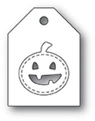 Poppystamp Die - Jack o Lantern Taglet Craft Die
