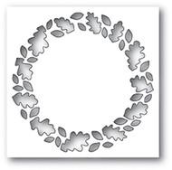 Poppystamp Die - Leafy Wreath Collage Craft Die