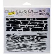 Crafters Workshop 6 x 6 Stencil - Hard Textures (TCW742)