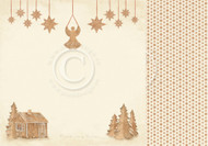 Pion Design - Christmas Wishes - 12 X 12 - Gingerbread Land (PD9803)