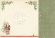 Pion Design - Christmas Wishes - 12 X 12 - December Birds (PD9805)
