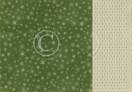 Pion Design - Christmas Wishes - 12 X 12 - Snowfall (PD9808)