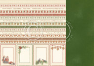 Pion Design - Christmas Wishes - 12 X 12 - Borders (PD9811)