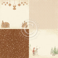 Pion Design - Christmas Wishes - 6 x 6 - Gingerbread Land (PD9903)