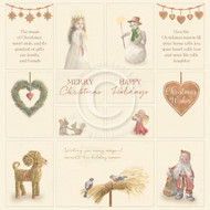 Pion Design - Christmas Wishes- 12 X 12 - Images From The Past (PD1631)