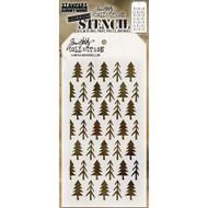 Tim Holtz Layering Stencil - Pines - THS096