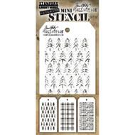 Tim Holtz Mini Layering Stencil - Set 32