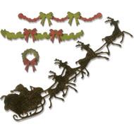 Sizzix Thinlits Dies By Tim Holtz - Village Christmastime