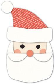 Memory Box Die - Gleeful Santa Craft Die
