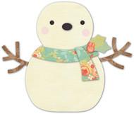 Memory Box Die - Cheering Snowman Craft Die