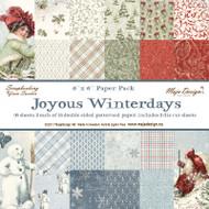 Maja Design - Joyous Winterdays - 6 x 6 Paper Pack