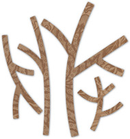 Memory Box Die - BAsic Forest Branches Craft Die