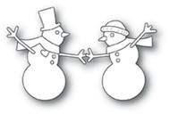 Memory Box Die - Dancing Snowmen Craft Die