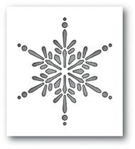 Memory Box Die - Starlight Snowflake Collage Craft Die