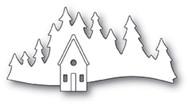 Memory Box Die - Alpine Cabin Craft Die