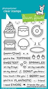 Lawn Fawn Sweet Friends Stamp Set (LF1551)