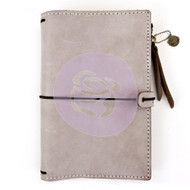 Prima Marketing Travel Journal Leather Essential - Warm Stone