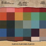 Tim Holtz Idea-ology Paper Stash 8 x 8 - Kraft Stock Classic (TH93585)