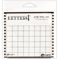 "Ranger Letter It Acrylic Stamp Block 4"" x 3"" (LET60888)"