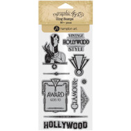 Graphic 45 - Vintage Hollywood - Cling Stamp Set 2 (ICO379)