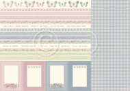 Pion Design - Days Gone By - 12 X 12 - Borders