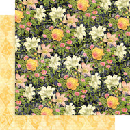 Graphic 45 Floral Shoppe - 12 x 12 Golden Serenity