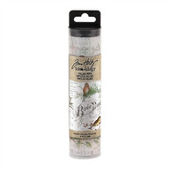 Tim Holtz Idea-Ology Collage Paper - Aviary