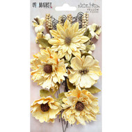49 and Market Flowers - Vintage Shades Botanical Blends – Yellow
