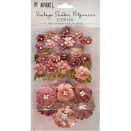 49 and Market Flowers - Vintage Shades Potpourri – Cerise