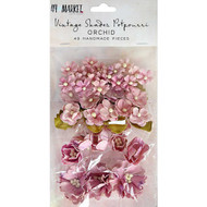 49 and Market Flowers - Vintage Shades Potpourri – Orchid