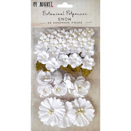 49 and Market Flowers - Vintage Shades Potpourri – Snow