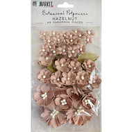 49 and Market Flowers - Vintage Shades Potpourri – Hazelnut