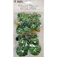 49 and Market Flowers - Vintage Shades Potpourri – Bottle Green