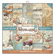 Stamperia - 12 x 12 Paper Pad - Around The World