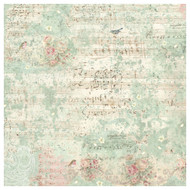 Stamperia - Rice Paper Napkin - Sweet Christmas Music & Sparrow