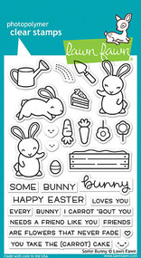 Lawn Fawn Some Bunny Stamp Set (LF1587)