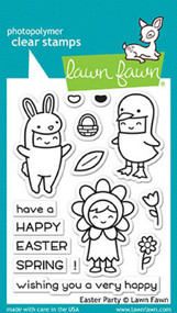 Lawn Fawn Easter Party Stamp Set (LF1589)