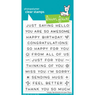 Lawn Fawn Simply Sentiments Stamp Set (LF1601)