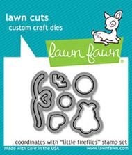 Lawn Fawn Little Fireflies Lawn Cut (LF1594)
