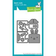 Lawn Fawn Tiny Gift Box Bunny Add-On Lawn Cut (LF1610)