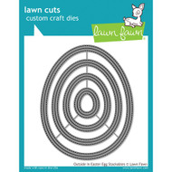 Lawn Fawn Outside In Easter Egg Stackables Lawn Cut (LF1627)
