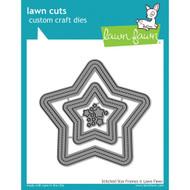 Lawn Fawn Stitched Star Frames Lawn Cut (LF1630)