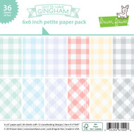 Lawn Fawn Gotta have GinghamPetite Paper Pack 6 x 6 (LF1647)