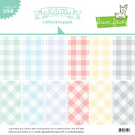 Lawn Fawn Gotta have Gingham Collection Paper Pack 12 x 12 (LF1648)