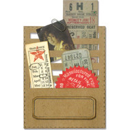 Sizzix Thinlits Dies By Tim Holtz - Stitched Slots (TH662697)