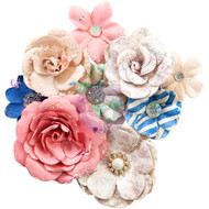 Prima Marketing - Santorini Mulberry Paper Flowers - Fira