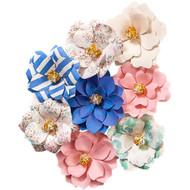 Prima Marketing - Santorini Mulberry Paper Flowers - Pygos
