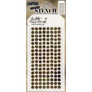 Tim Holtz Layering Stencil - Dotted - THS100