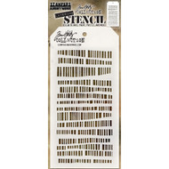Tim Holtz Layering Stencil - Dashes - THS102